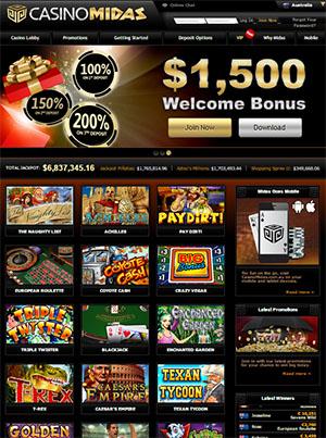 online casino midas lobby