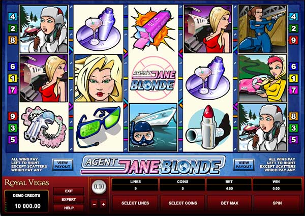 royal vegas casino slot