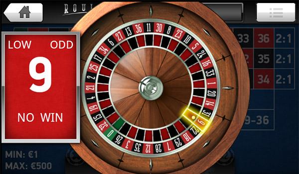 Mr Green casino roulette