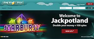 JackpotLand landing page