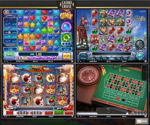 Casino Cruise multi games