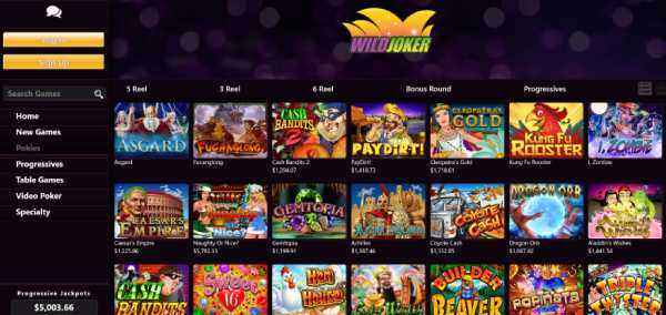 Wild Joker casino games